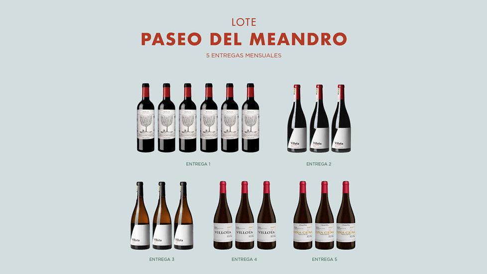 Tarjeta Regalo - Club de Vinos Paseo por el Meandro