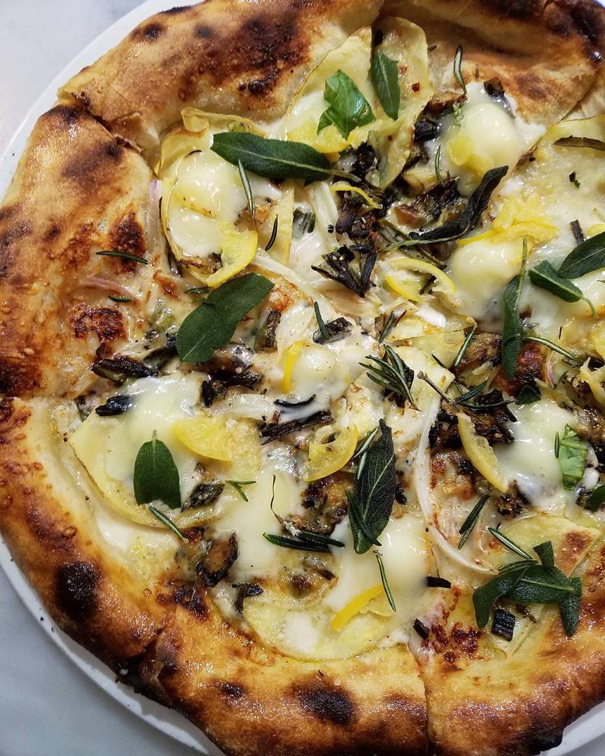 Potato and Sage Pizza