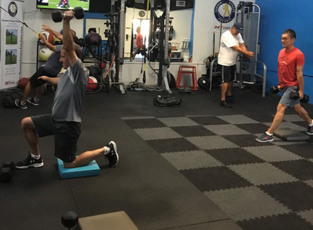 How We Design Our Adult Group Golf Fitness Classes