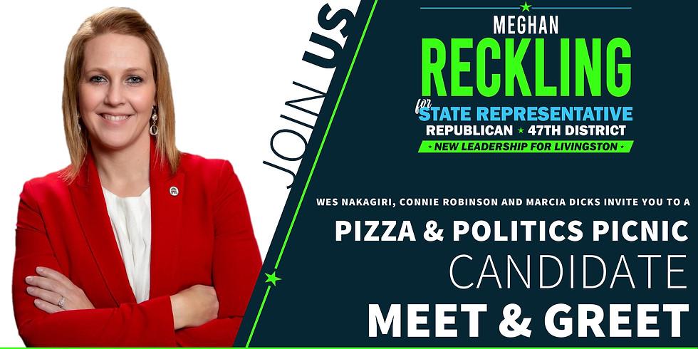 Pizza & Politics Candidate Meet & Greet