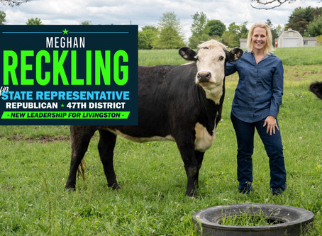"""Reckling Receives Coveted """"Friends of Agriculture"""" Endorsement"""