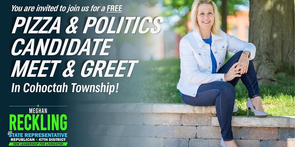 Pizza & Politics Candidate Meet & Greet: Cohoctah Township
