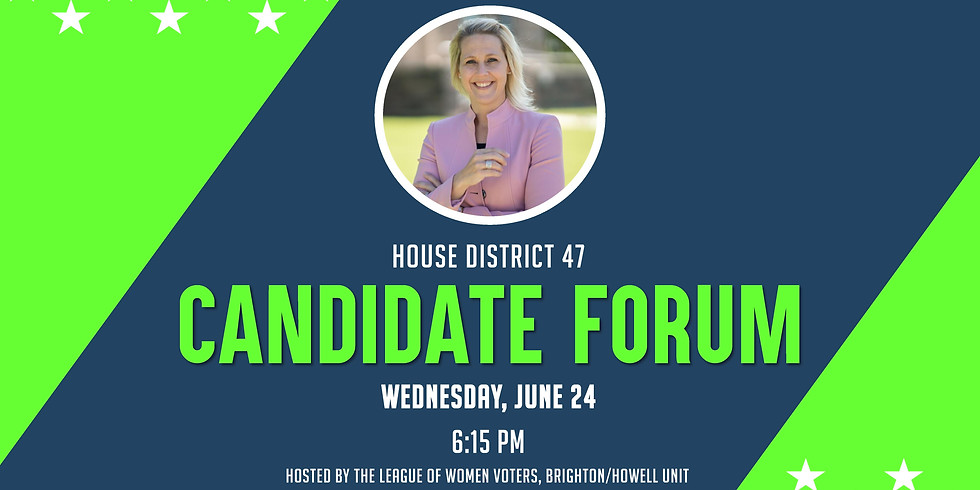 Candidate Forum: Hosted by the League of Women Voters