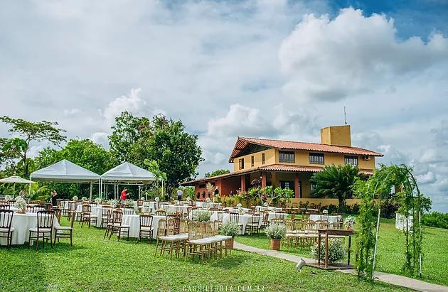 Sítio Horizonte Azul - Casamento próximo a Recife - Ao ar livre