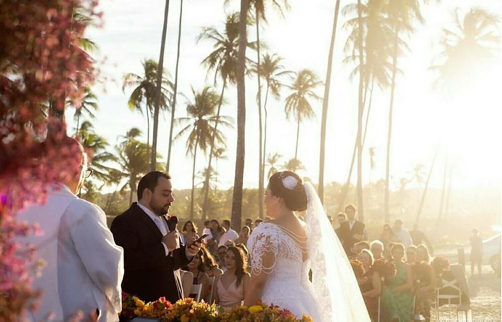 Casamento na Praia - Casamento no Paiva - Feedback