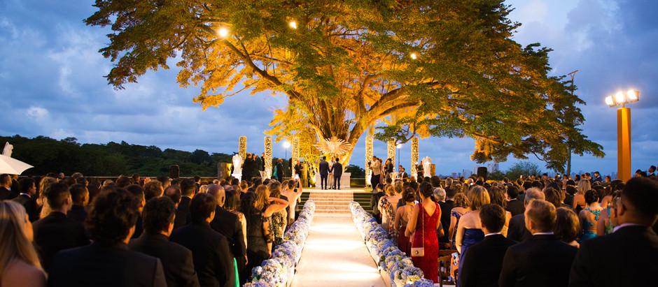 Casamento em Recife com cerimônia ao ar livre - 11 casas e igrejas incríveis