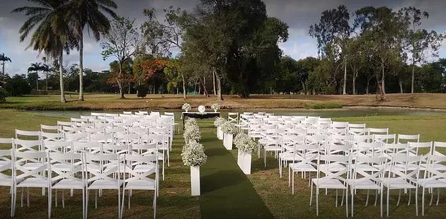 Caxangá Golf e Country Club - Casamento em Recife ao ar livre