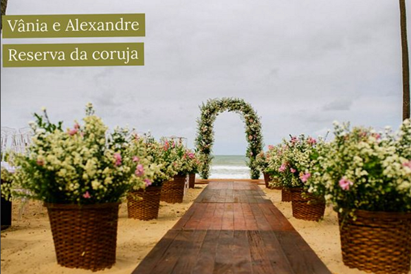 Casamento na Praia - Casamento no Paiva - Reserva da Coruja Feedback