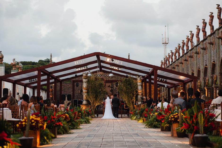 Feedback de Duda e George - Casamento em Recife - Oficina Brennand
