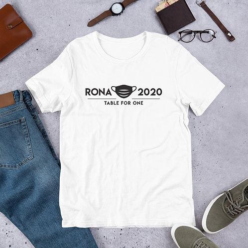 Rona 2020 - Black - Short-Sleeve Unisex T-Shirt