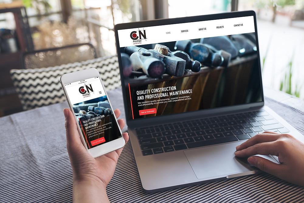 New Website Design for CN Prestige