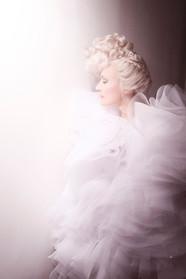 Wedding Dress | Make Up Shooting Fashion - Eva Gelly