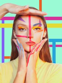 Maquillage Shooting - Eva Gelly