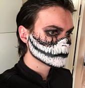 """Halloween """"Masque Squelette"""" - Eva Gelly"""