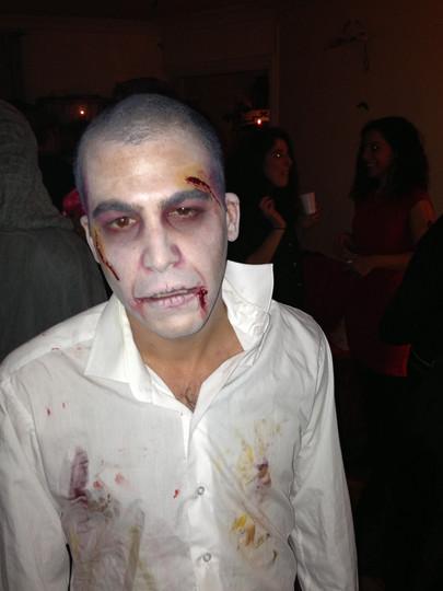 """Halloween """"Zombie""""- Eva Gelly"""