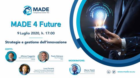 MADE 4 Future: Strategie e gestione dell'innovazione