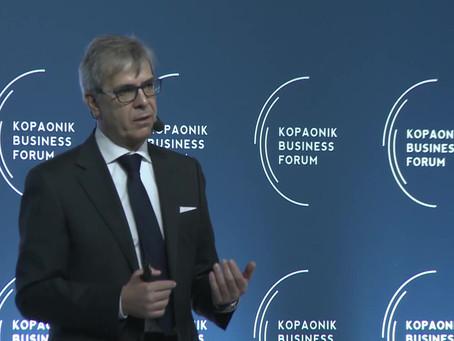 Marco Taisch al Kopaonik Business Forum 2020