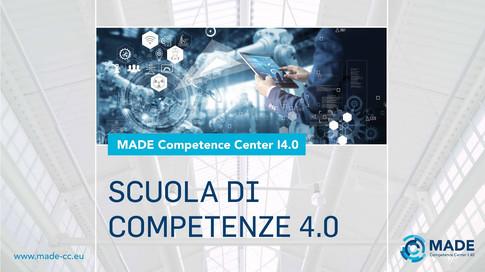 Presentazione della Scuola di Competenze 4.0 - MADE