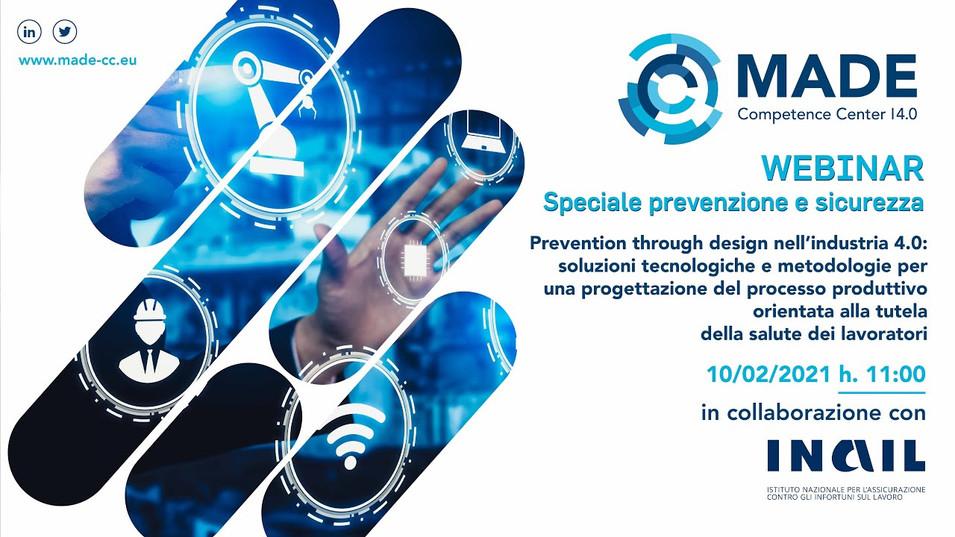 Prevention through design nell'Industria 4.0