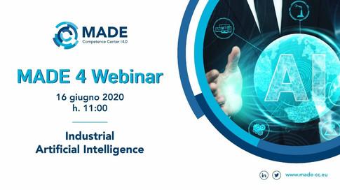 MADE 4 Webinar: Industrial Artificial Intelligence
