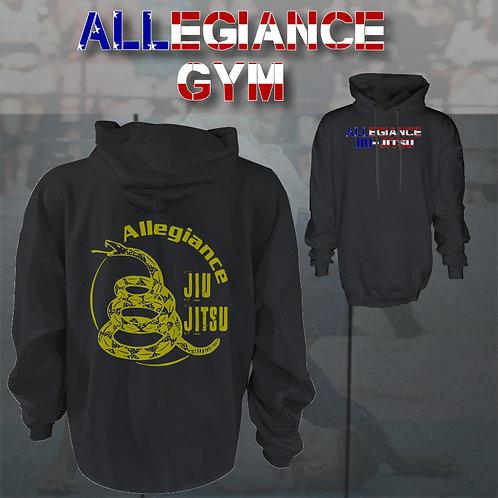 Allegiance Gym -Classic Jiu Jitsu Hoodie