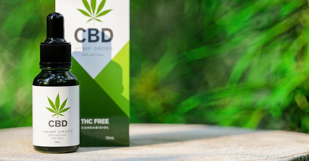 Hemp CBD bottle