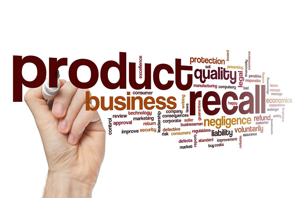 Product Recall for CBD and Hemp