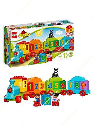 Lego Գնացք,սովորում ենք հաշվել