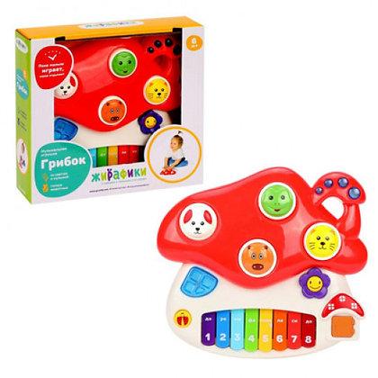 Երաժշտական խաղալիք  Սունկ լույսով