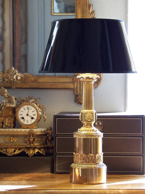 Lampe colonne Empire, XIXe