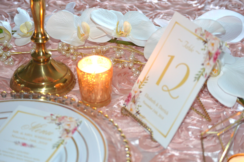 Pink Glitz Wedding