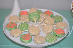 Dipped Oreos -Baby Shower