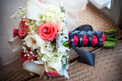 Brides's bouquet.