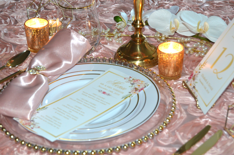 Pink Glitz Wheeler Wedding