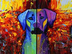 Painting - Artist Pino Renzulli
