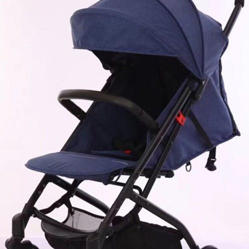 Navy porter-light compact stroller