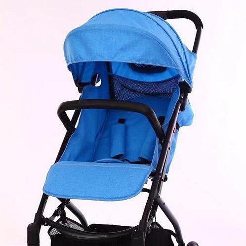 Blue porter-light compact stroller