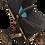 Thumbnail: Navy Blue Stroller/Bronze Frame