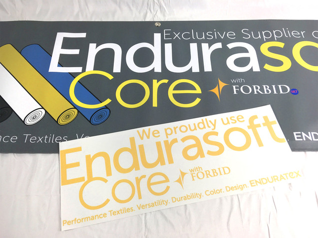 Collection Banner and Window Decal