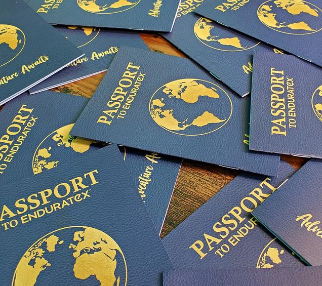 Passport Style Booklet Brochures