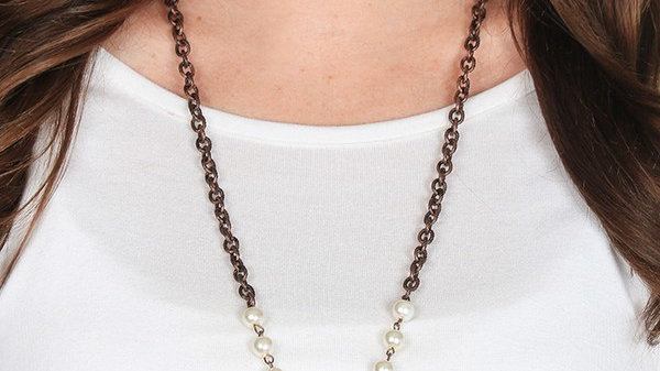 Texas Rose Necklace