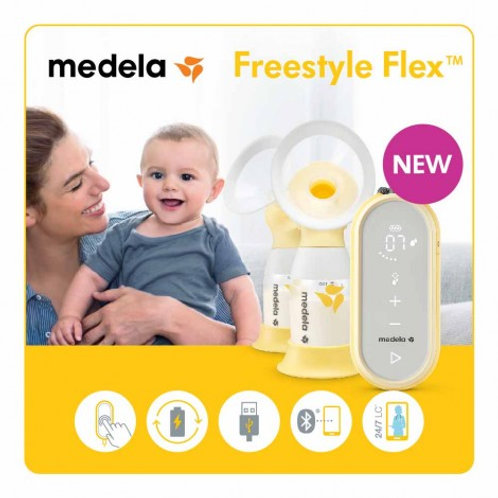 Medela® Freestyle Flex™ Portable Double Electric Breast Pump with Bag