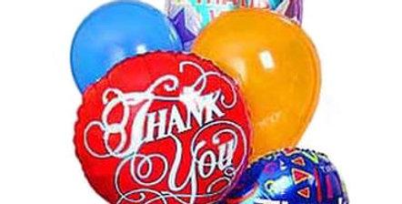 Thank you Balloon Bouquet