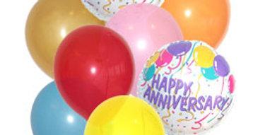Happy Anniversary balloon bouqet