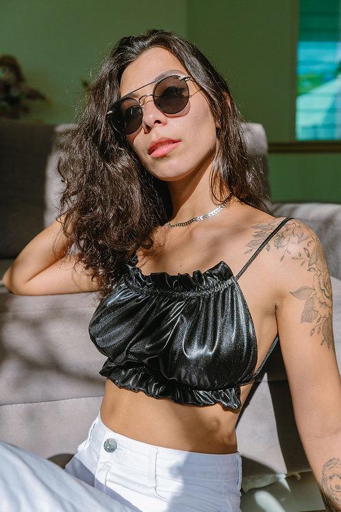 Cropped Tori Preto