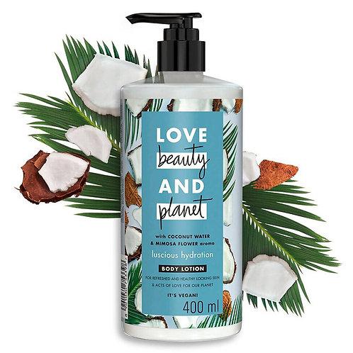 Crema corporal con agua de coco y flor de mimosa