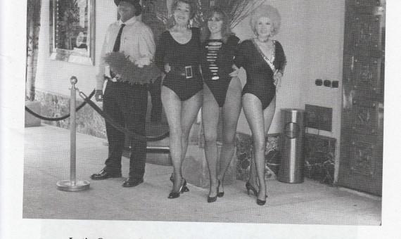 The LQ girls visiting Patsy's restaurant