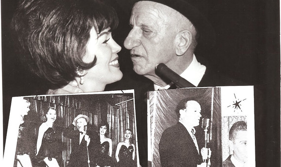 """Affectionately know as """"the Schnoz"""", Jimmy Durante"""