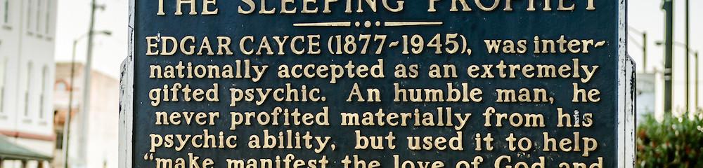 The Speeping Prophet Plaque