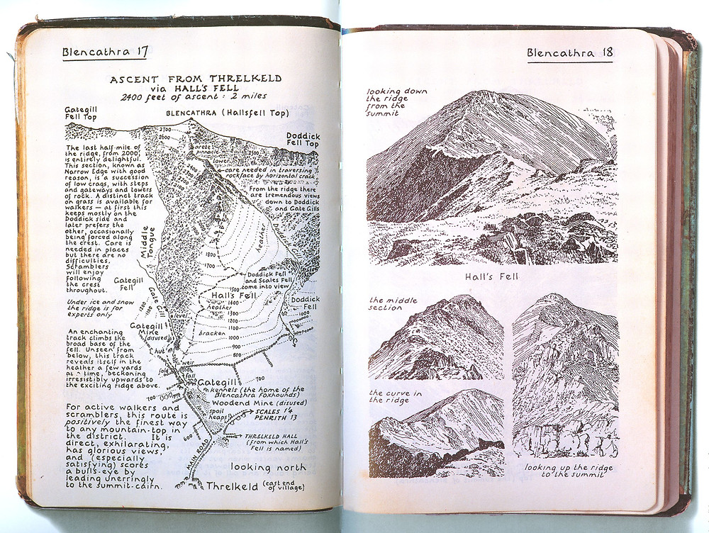 Wainwright Pictorial Guides, Scalesceugh Hall & Villas